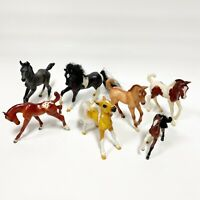 Lot of 7 Vintage BREYER Horses Fouls Assorted Styles