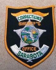 FL Sarasota County Florida Corrections Sheriff Patch