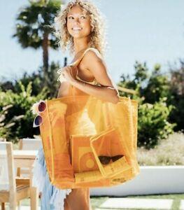 Funboy Clear Orange Beach Bag