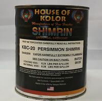 House of Kolor KBC20 Persimmon Shimmrin 1 Quart