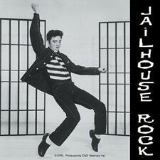 ELVIS PRESLEY Jailhouse Rock Collector Sticker NEW OFFICIAL MERCHANDISE RARE