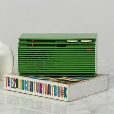 Green Italia Mini Radio Retro Italian Unique Speaker Vintage Style