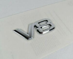 LEXUS V8 EMBLEM LAND CRUISER LX470 GX470 REAR LIFTGATE CHROME BADGE sign logo