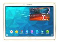 Samsung Galaxy Tab S 10.5 SM-T800 16GB Tablet : Titanium Bronze / White Gold