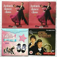 4 DVD Anton's Dance Class + BELLA Dancerella TAP Orteils + strictement come dancing
