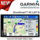 Garmin DriveSmart 65 LMT-S Car GPS Sat Nav Lifetime Full Europe Map+Live Traffic