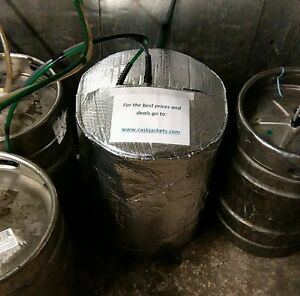 INSULATED KEG COVER & 1 ICE SHEET cooler cooling lager beer smooth kegs barrel