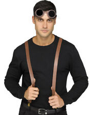 Instant Suspenders Steampunk Character Kit One Size