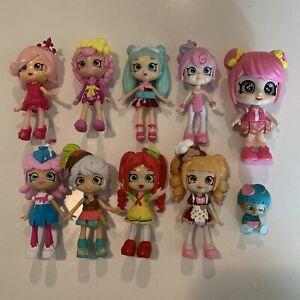 Shopkins Lot of Happy Places Lil Shoppies Mini Dolls Figures