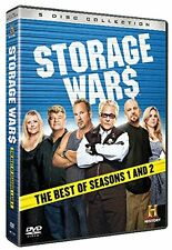 HISTORY CHANNEL THE BEST OF CLASSIC Storage Wars - Season 1 & 2 - 5 x DVDs NEW