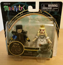 Alice Through the Looking Glass Minimates 2 pack Time and White Queen