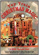 Toy Train Christmas Magic 4 Disc DVD Box Set NEW