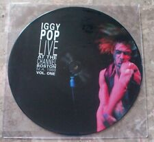 Iggy Pop Live At Channel Boston Ma 1988 Vol. One Lp Picture Disc Vinyl Mig40P