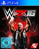 WWE 2K16 (PS4) Wrestling - MINT - Super FAST & QUICK Delivery FREE