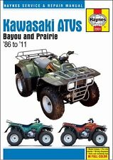 1986-2011 Kawasaki Bayou Prairie KLF KVF 220 250 300 ATV Quad REPAIR MANUAL 2351