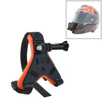 PULUZ Motorcycle Helmet Chin Strap Belt Mount for DJI Osmo Action /GoPro /Xiaoyi