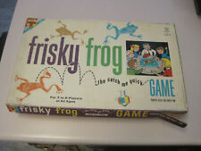 Transogram Frisky Frog The Catch Me Quick Game, 1962, RARE FIND