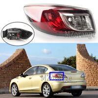 Left Passenger Side Outer Rear Tail Light Lamp for Mazda 3 BL Sedan 2009-2013 LH