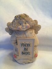 "Cold Cast Angel Cherub by Abbey Press ""You're An Angel"" Figurine"