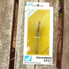 Viessmann 6065 madera mástil lámpara altura 90 mm