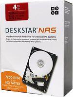 HGST DESKSTAR NAS Festplatte, 4TB, SATA3 6Gb/s, 7200 U/min (HDN724040ALE640)