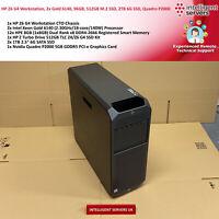 HP Z6 G4 Workstation, Gold 6140, 96GB DDR4, 512GB M.2, 2TB 6G SSD, Quadro P2000