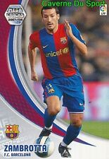061 ZAMBROTTA ITALIA FC.BARCELONA TARJETA CARD MEGA CRACKS LIGA 2008 PANINI