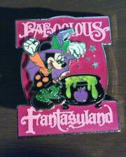 Disney Disneyland DLR Minnie Witch Halloween Faboolous Fantasyland LE Pin 4