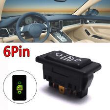 1x Car Power Window Switch Lamp 6 pin DC 12V/24V ON/OFF SPST Rocker Universal