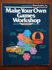 Make Your Own Games Workshop - Craig Pearson - Teacher Aid - Softcover 1st 1982