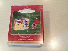 "2000 HALLMARK CHRISTMAS ORNAMENT, ""HOPALONG CASSIDY"" LUNCH BOX SET, NIB"