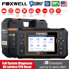 Foxwell NT624 Elite Automotive OBD2 Diagnostic Scanner Full System ABS SRS Oil