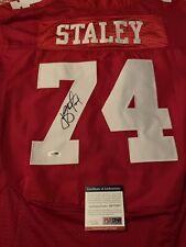 Joe Staley Signed Jersey Niners 49ers PSA/DNA Coa