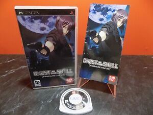 Ghost in the Shell Stand Alone Complex Sony PSP PAL Complete XX009