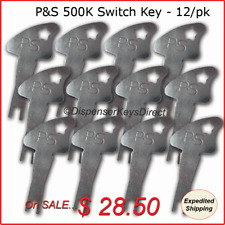 Pass & Seymour 500K Tamper Proof Electrical Switch Key - (12/pack)