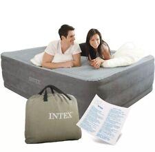 Intex Luftbett Comfort mit Pumpe Gästebett Luftmatratze 203x152x56cm Queen