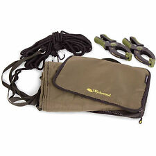 Wychwood Fishing Competition Drogue & Clamps - 3 Inch Clamps, 25ft2 Parachute