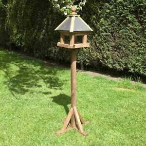 Laverton Bird Table House Slate Slated with Leg Stand