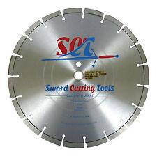 "SCT Premium Pro-Concrete Cutting Blade 14"" x 1""-20mm Arbor USA Made FREE SHIP!"