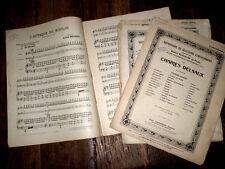 recueil de 12 quatuors pour piano violon violoncelle et contrebasse 1911 Delsaux