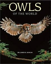 Owls of the World: Their Lives, Behavior and Survival-ExLibrary