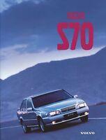 Volvo S70 Prospekt 1998 3/98 brochure Autoprospekt prospectus brosjyre catalog