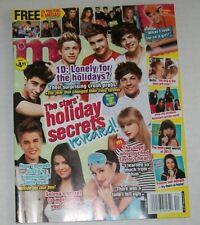 M magazine POSTERS One Direction SELENA GOMEZ Big Time Rush AUSTIN MAHONE 2012