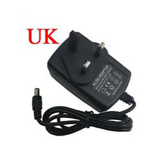 24W AC/DC 12V 2A Power Supply Adaptor 3 PIN UK Plug For 5050 LED Lights Strips