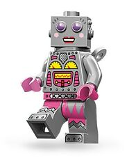 Lego collectible minifig series 11 Lady Robot / android suit city / train set