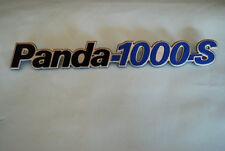 FIAT PANDA 1000 S FREGIO SIGLA TARGHETTA EMBLEM BADGE