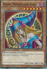 YU-GI-OH CARD: DARK MAGICIAN GIRL - SDMY-EN011 - 1st EDITION