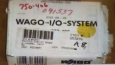 WAGO I/O System PN: 750-406 **NEW** 2-Channel Digital Input Module 120 V AC