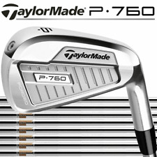 TaylorMade P760 Irons 4-PW Stiff Dynamic Gold 120 Shaft Right Handed for Men