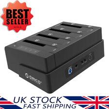 "ORICO 2.5"" 3.5"" 4 Bay USB 3.0 Hard Drive Docking Station Clone for SATA SSD HDD"